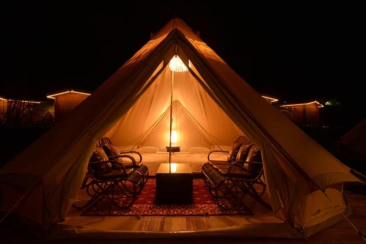 GLAMPING TENT DELUXE