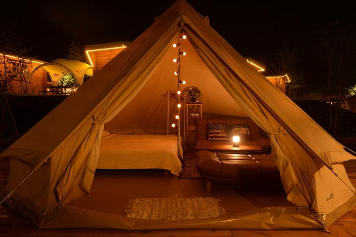 GLAMPING TENT COMFORT