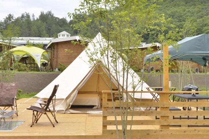 GLAMPING TENT HIGH GRADE