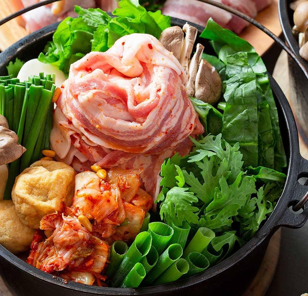 BBQ&豚チゲプラン